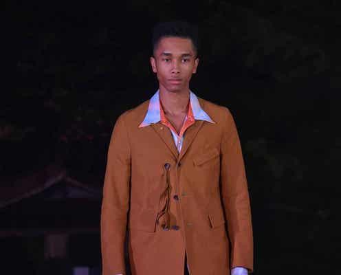 楽天ファッション・ウィーク東京22年春夏 持続可能な物作り、プリミティブなムード広がる