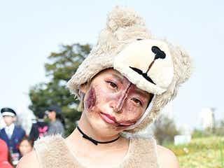 なつぅみ、傷だらけ「TED」でお台場ハロウィーン参戦 コスプレパレード盛り上げる