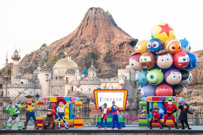東京ディズニーシー「ピクサー・プレイタイム・パルズ」(C)Disney(C)Disney/Pixar
