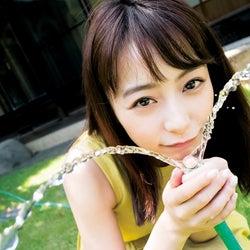 """TBS宇垣美里アナのナチュラルな魅力 テレビとは""""一味違う""""表情"""
