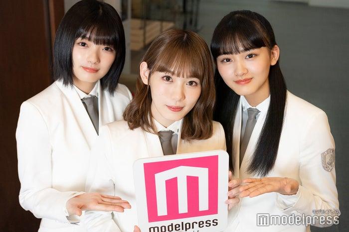 藤吉夏鈴、小池美波、山崎天 (C)モデルプレス
