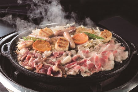 BBQ飲み食べ放題のBBQ(提供写真)