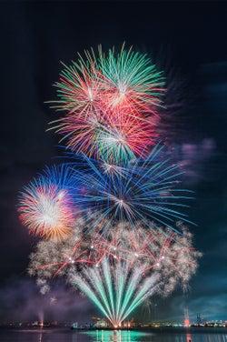 新感覚ミュージック花火大会が目玉!大阪「泉州 光と音の夢花火」昨年比2倍の2万発を打ち上げ