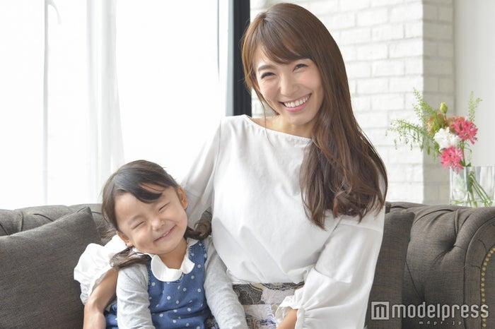子どももママも笑顔に(C)モデルプレス