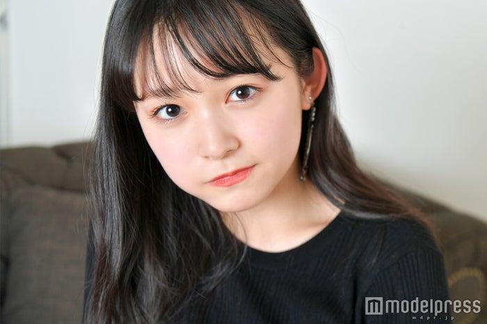 久間田琳加 ちょっぴり怒った顔も可愛い(C)モデルプレス