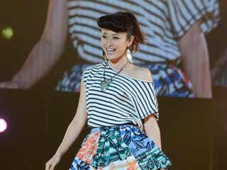 山田優、ミニスカで笑顔満開 台湾史上最大級ファッションショーに出演