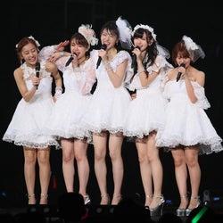 ℃-ute解散で12年間の歴史に幕 ラストコンサートに中澤裕子・道重さゆみら駆けつける<セットリスト>