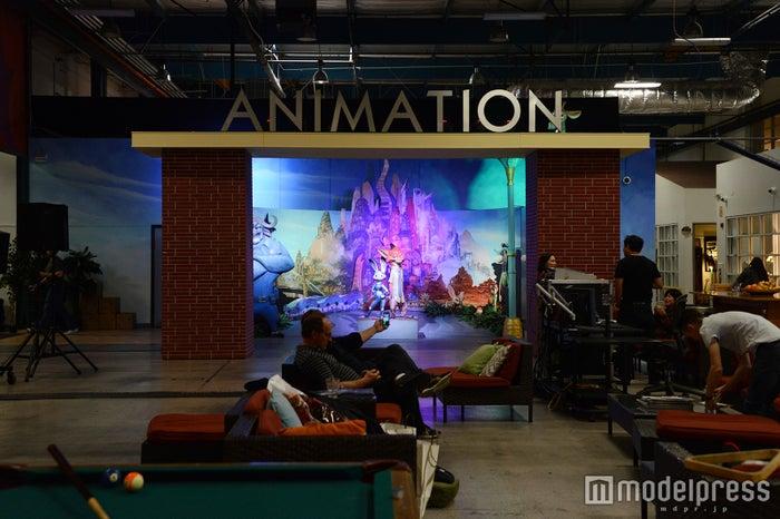 「ディズニー・アニメーション」仮設スタジオ内の様子(C)モデルプレス