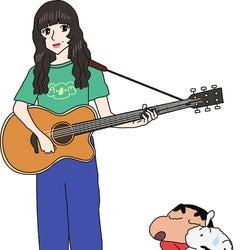 あいみょん、映画「クレヨンしんちゃん」最新作に登場「自分がキャラクターになるなんて」