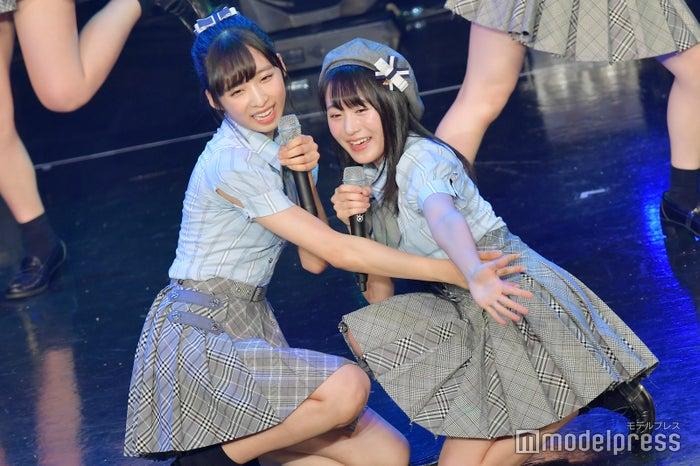 小栗有以、坂口渚沙/AKB48チーム8「TOKYO IDOL FESTIVAL 2018」 (C)モデルプレス