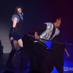 名シーンの再現/川栄李奈、佐藤汛(C)モデルプレス