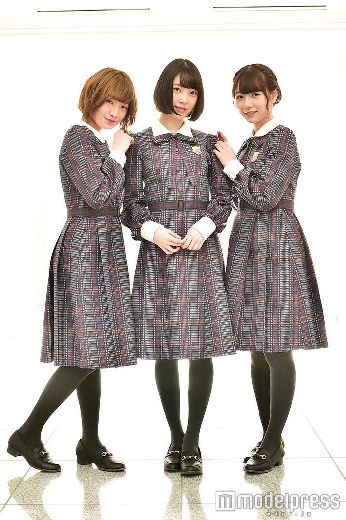 中田花奈、堀未央奈、北野日奈子(C)モデルプレス