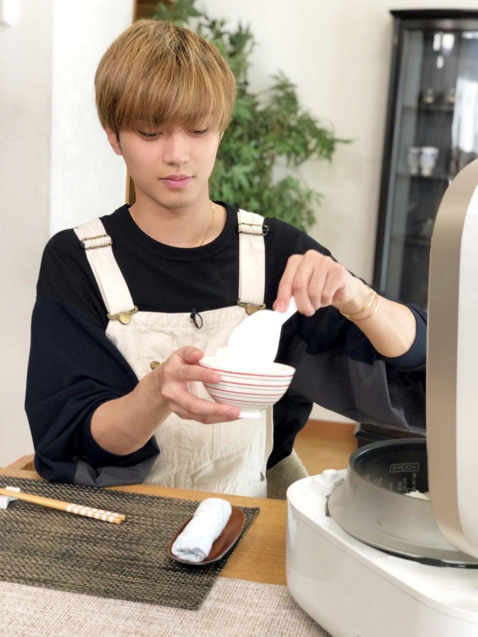 King & Prince永瀬廉、お茶碗6杯分を完食 美味しい炊き方のコツを披露