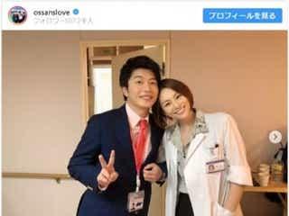 田中圭&米倉涼子の再会に歓喜の声!「おっさんずラブ」「ドクターX」コラボショット