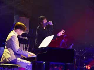 城田優、MattのピアノでKinKi Kids「愛のかたまり」披露 カバーアルバム発売も発表