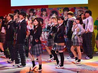 福原遥、M!LK、「Popteen」ゆらゆら、マジパンら豪華コラボ ももクロ名曲でキレキレダンス