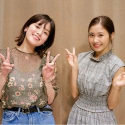 佐野ひなこ、筧美和子と共演で「お胸はどうなってるの!?」