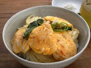 昨日の天丼を、今日はさらっと塩と緑茶で「簡単天ぷらの天茶」