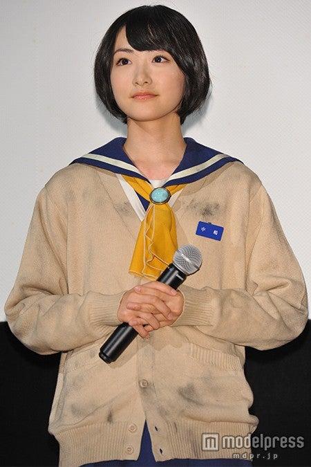 映画「コープスパーティー」の舞台挨拶に出席した生駒里奈【モデルプレス】