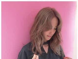 """Dream Ami、""""ほんのりピンク""""ヘアにイメチェン「可愛い」「真似したい」と反響"""