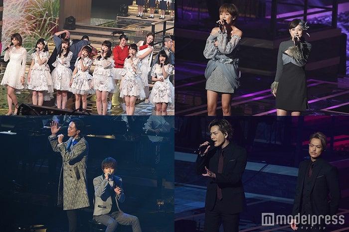 """西内まりや、AKB48、三代目JSB、AAA…ヒットメドレーで""""日本の四季""""彩る<レコ大>(C)モデルプレス"""
