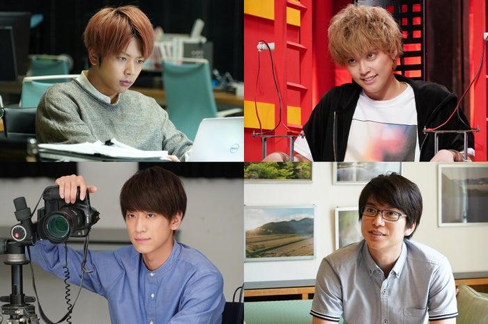 (左上時計回り)増田貴久、手越祐也、加藤シゲアキ、小山慶一郎(C)日本テレビ
