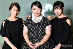 桜井玲香、富田望生、伊藤万理華(C)モデルプレス