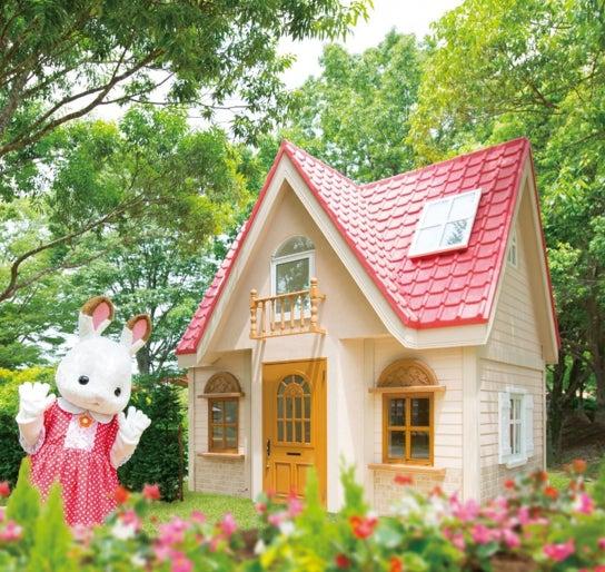 シルバニア村の屋外テーマパーク「シルバニアパーク」茨城に誕生/画像提供:エポック社