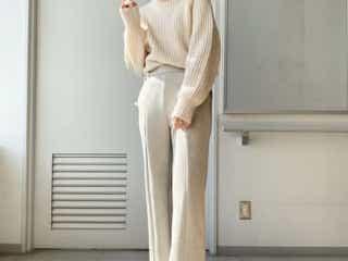 1990円なのにすっごい高級感!GU「スエード風パンツ」めっちゃオシャレで着心地も良いんです