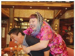 渡辺直美、明石家さんまと「2人とも死にかけた」インパクト大ショット公開で「いいね」殺到