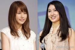有村架純(左)からの刺激を明かした土屋太鳳(右) (C)モデルプレス