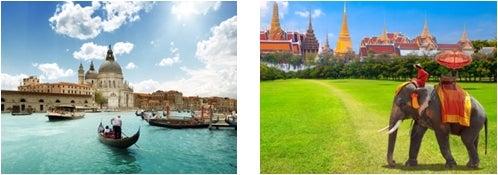 イタリア、タイ/画像提供:AAE Japan