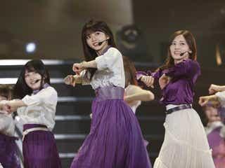 乃木坂46齋藤飛鳥、グループの変化にも「不安はない」<23rdシングル「Sing Out!」発売記念~選抜ライブ~>