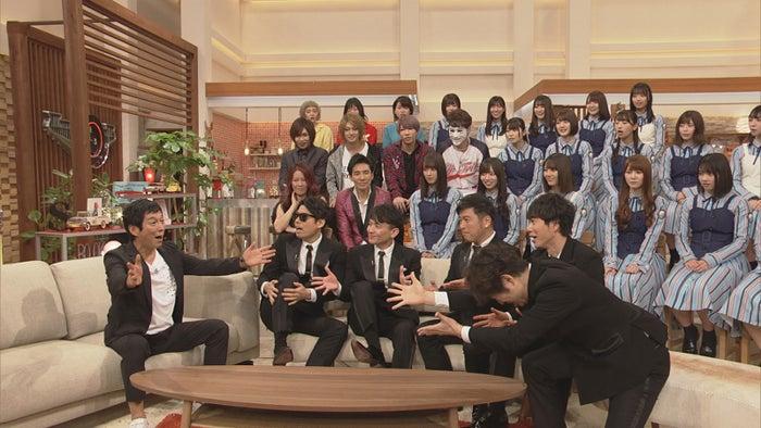 明石家さんま、ゴスペラーズ(C)NHK