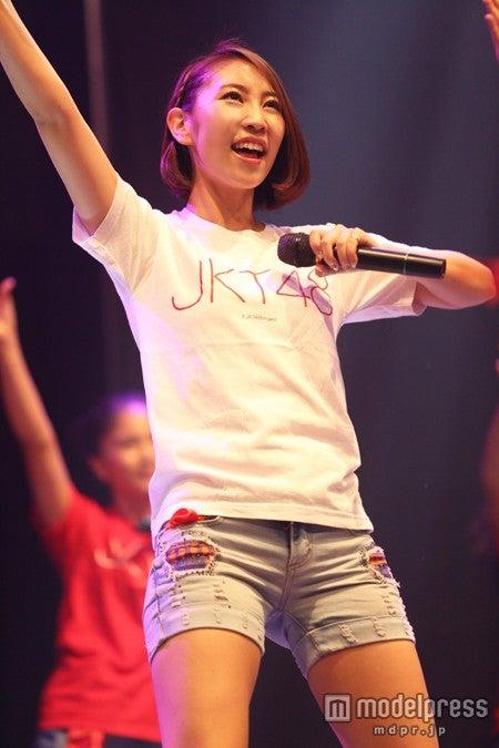 JKT48としての活動を開始した近野莉菜