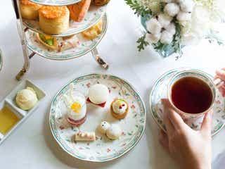 ホテル椿山荘東京で「ホワイトアフタヌーンティー」が開催。冬の白がテーマ
