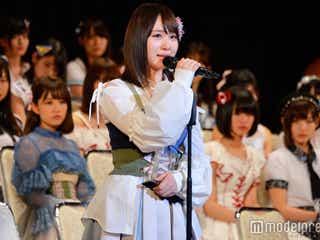 AKB48高橋朱里、総選挙結婚発表に「胸が痛い」発言の真意明かす