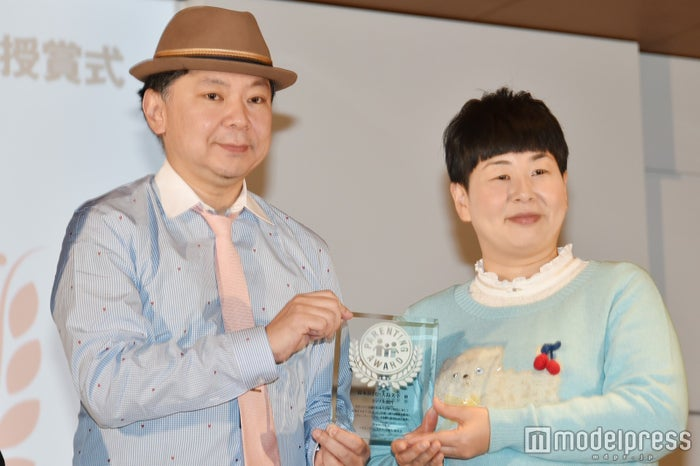 「第9回ペアレンティングアワード授賞式」に出席した鈴木おさむ氏、大島美幸 (C)モデルプレス