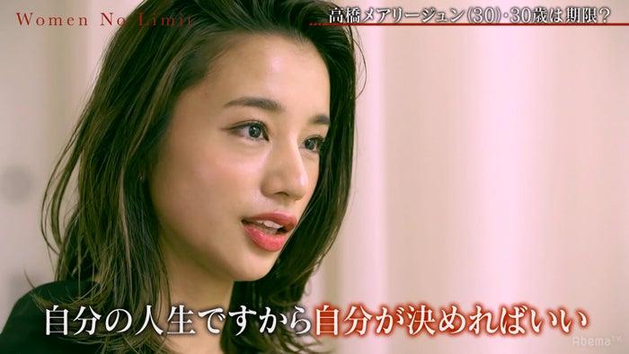 高橋メアリージュン (C)AbemaTV