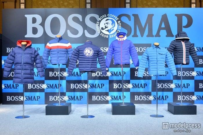 SMAP木村拓哉、大物俳優から演技指導/写真は「BOSS」と「SMAP」のコラボレーション企画でプレゼントされる特製ボスジャン