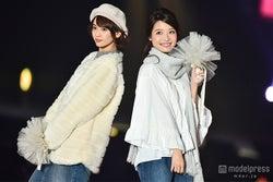 木下ひなこ(左)、上田眞央