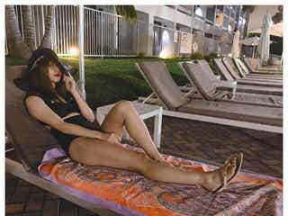 E-girls・SAYAKA、レアな水着姿公開「抜群スタイル」「かっこよすぎ」の声