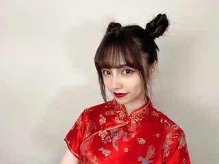 """島崎遥香、""""整形級""""中国メイクに反響「美しすぎる」「雰囲気違う」"""