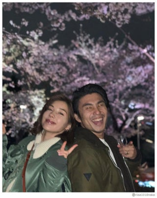 仲里依紗&中尾明慶、仲良し2ショットは愛息子が撮影「素敵な写真」と反響殺到