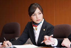 川口春奈/「イノセンス~冤罪弁護士~」第1話より(C)日本テレビ