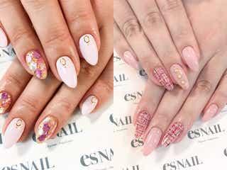 """指先に春を纏って!出会いの季節は""""桜ピンク""""で好印象をゲット"""