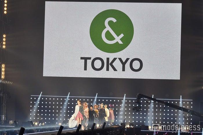 「&TOKYO」ステージ(C)モデルプレス