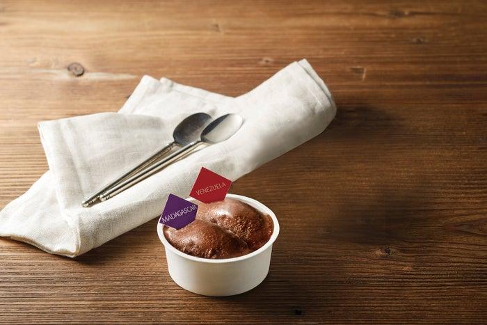 コールドチョコレート 2種食べ比べ 税込 648円/画像提供:大丸松坂屋百貨店