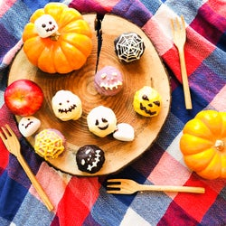 一口サイズの可愛いスイーツ「ハロウィンデコcake」の簡単レシピ【柏原歩のトレンドレシピ】