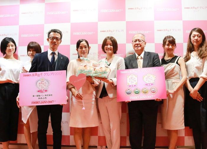 FOODEX美食女子グランプリ2017受賞式の様子